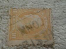 BENJAMIN FRANKLIN 10 CENT POSTAGE STAMPS USED 1919 ANTIQUE ==