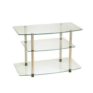Convenience Concepts Designs2Go Classic Glass TV Stand, Glass - 157004