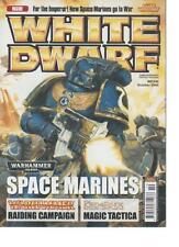 WHITE DWARF MAGAZINE  OCTOBER 2008  WD346  SPACE MARINES   LS