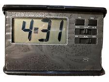 Small Lcd Alarm Clock with Alarm