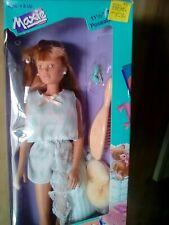 Vintage Hasbro Maxie Slumber Party Sleep Over Ashley Doll  1988 NIB