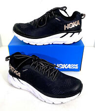 Hoka One One Clifton 6 Women's Size 6.5 Black/Rose Gold Running Shoes X5-68