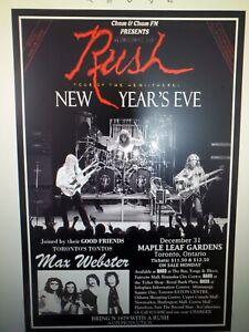 Rush Hemispheres In Toronto Poster