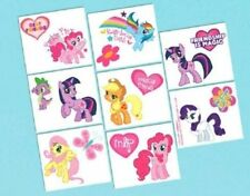 My Little Pony Birthday Party 16 Tattoos Favors