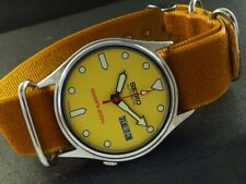 OLD VINTAGE SEIKO 5 AUTOMATIC JAPAN MEN'S DAY/DATE WATCH 443a-a221433-5