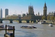 Houses of Parliament Big Ben Westminster Bridge London Photograph Picture Print
