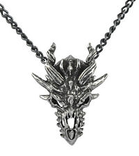 Dragon Skull Pendant - Alchemy Gothic Metal Wear Dragon Totem/Talisman/Amulet