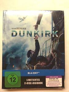 Dunkirk (2017)[2 Blu-ray's im Limited Digibook/NEU/OVP] von Christopher Nolan