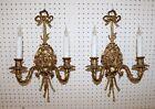Fine Pair Louis XV 2 Light Sconces