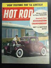 1955 Hot Rod December Back Issue Magazine