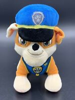 """Paw Patrol Ultimate Rescue Police Rubble Plush Blue 8"""" Tall Spin Master"""