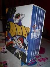 OPERA COMPLETA BOX COFANETTO 12 DVD JEEG ROBOT D'ACCIAIO GAZZETTA