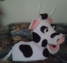 Blacklight Full Bodied Cow Puppet for Education, Teachers, Ministry, Dairy