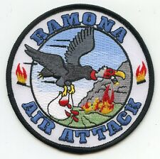 RAMONA AIR ATTACK San Diego CALIFORNIA CA DEPARTMENT OF FORESTRY FIRE PATCH