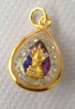 Buddha's Sacred Thai Amulet Pendant blessed by Monks for Luck Wealth & Love (08)