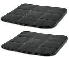 2 x Breathable Bamboo Charcoal Car Taxi Office Chair Seat Cover Pads Mat Cushion