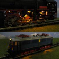 S562 - Anfahr- und Triebwerksbeleuchtung LED 0805 für Dampfloks E-Loks H0 + TT