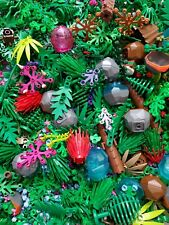 ☀LEGO 50 NEW Random Pieces Of Garden Accessories Plants Flowers Grass Stem Fence