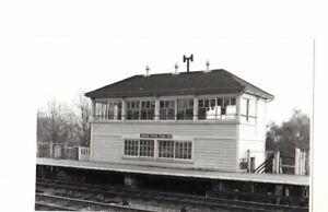Rail Photo GWR Denham station signal box Buckinghamshire west Ruislip