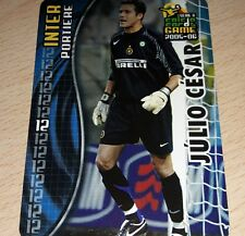 CARD CALCIATORI PANINI 2005-06 INTER JULIO CESAR CALCIO FOOTBALL SOCCER ALBUM