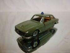 PENNY 0/35 ALFA ROMEO 2600 SPRINT BERTONE POLIZIA - GREEN 1:66 - GOOD CONDITION