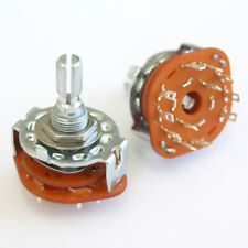 Conmutador rotativo 5 posición para Varitone Estilo Guitarra o Bajo E69 Circuits.