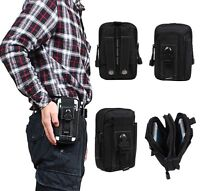 Universal Army Belt Pouch Case Cover for Mobile Phone Holster Tactical Bag