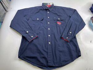 Vintage Tommy Hilfiger Sailing Gear Button Down Shirt Men's Large