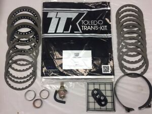 TH350/C BANNER KIT, HIG FRICTIONS WITH MODULATOR, HD BAND,FILTER, 3 BUSHINGS