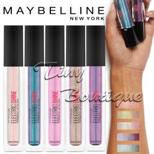 Maybelline Electric Shine Prismatic Lip Gloss Iridescent shine Assorted colours