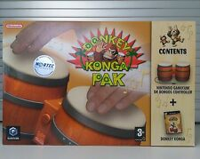 DONKEY KONGA PAK - NINTENDO GAMECUBE - PAL - NEW