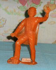 vintage Marx orange Phantom Of The Opera plastic figure (broken, painted)