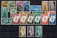 D136564/ SPAIN / Y&T # 878 / 899 MNH COMPLETE YEARS 1956 & 1957 CV 100 $