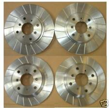 HONDA PRELUDE BB9 BB5 BB7 97-01 FRONT REAR GROOVED BRAKE DISCS 4 STUD