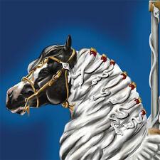 Pegasus Zaira ~ Gypsy Vanner  Carousel Horse 8X10