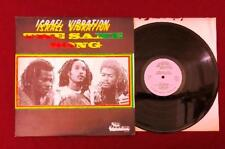 Israel Vibration ‎~ 1978 The Same Song Roots Reggae LP Vinyl Record Top Ranking