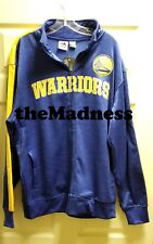 New Majestic Mens Big & Tall XLT Golden State Warriors Streak Track Jacket NBA