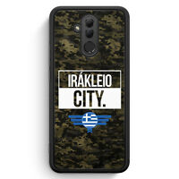 Irakleio City Camouflage Griechenland Huawei Mate 20 Lite SILIKON Hülle Cover...