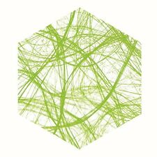 Crea-web 25 M lang 30 Cm breit apfelgrün