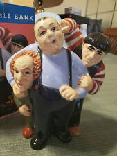 Three Stooges Collectible Bank (Nib)