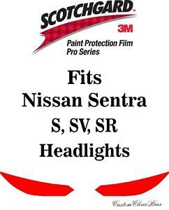 3M Scotchgard Paint Protection Film Pro Series Fits 2020 2021 2022 Nissan Sentra