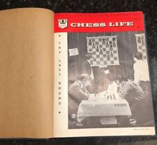 "Vintage Chess Book ""Chess Life"" 1963 Bound volume # 18 R. Whitney"