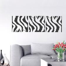 Wandtattoo Zebra Afrika Retro, Wandaufkleber, Wandsticker, Wanddekoration