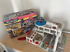 Micro Machines Super Auto World Garage Play Set 1995 RARE Boxed Vtg Toy Galoob