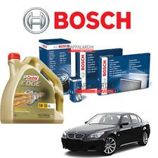 KIT TAGLIANDO FILTRI BOSCH + OLIO CASTROL BMW SERIE 5 530 d (E60) DA 2003 A 2010