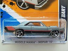 HOT WHEELS - MUSCLE MANIA - MOPAR '12 - '68 DODGE HEMI DART - 1/64 DIECAST