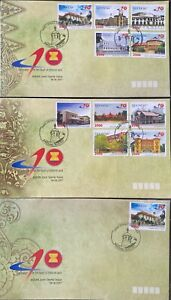 ASEAN 40th Anniversary 2007 Joint Issue Landmarks:  Indonesia