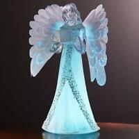 "9"" Color-Changing Christmas Angel LED lights Fiber Optic Wings"