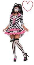 Femmes Arlequin Anneau Maîtresse Bouffon Déguisement Halloween Clown Cirque