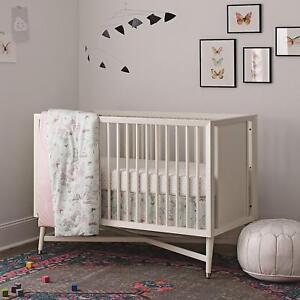 Dwell Studio Arden Butterfly Print 3 Piece  Baby Crib Bedding Set  - DWELLSTUDIO